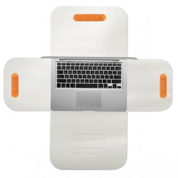 "RedMaloo de piele MacBook(Air )13"" alb   Husa laptop 13"""