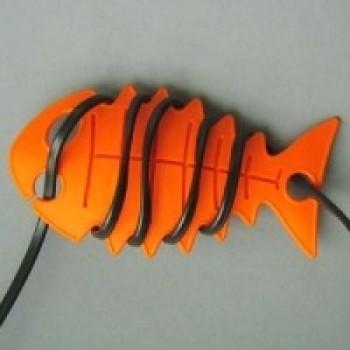 CableFish portocaliu | Organizator cabluri