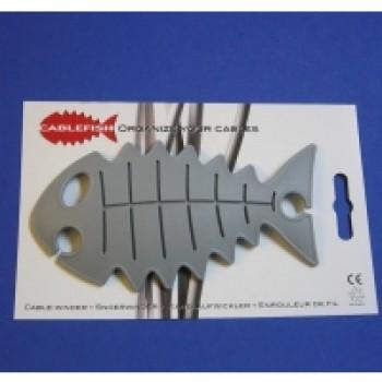 CableFish gri | Organizator cabluri