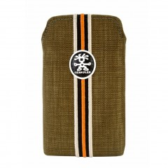 Husa iPhone/smartphone Crumpler The Culchie maro