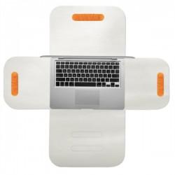 "RedMaloo de piele MacBook(Air )13"" alb | Husa laptop 13"""