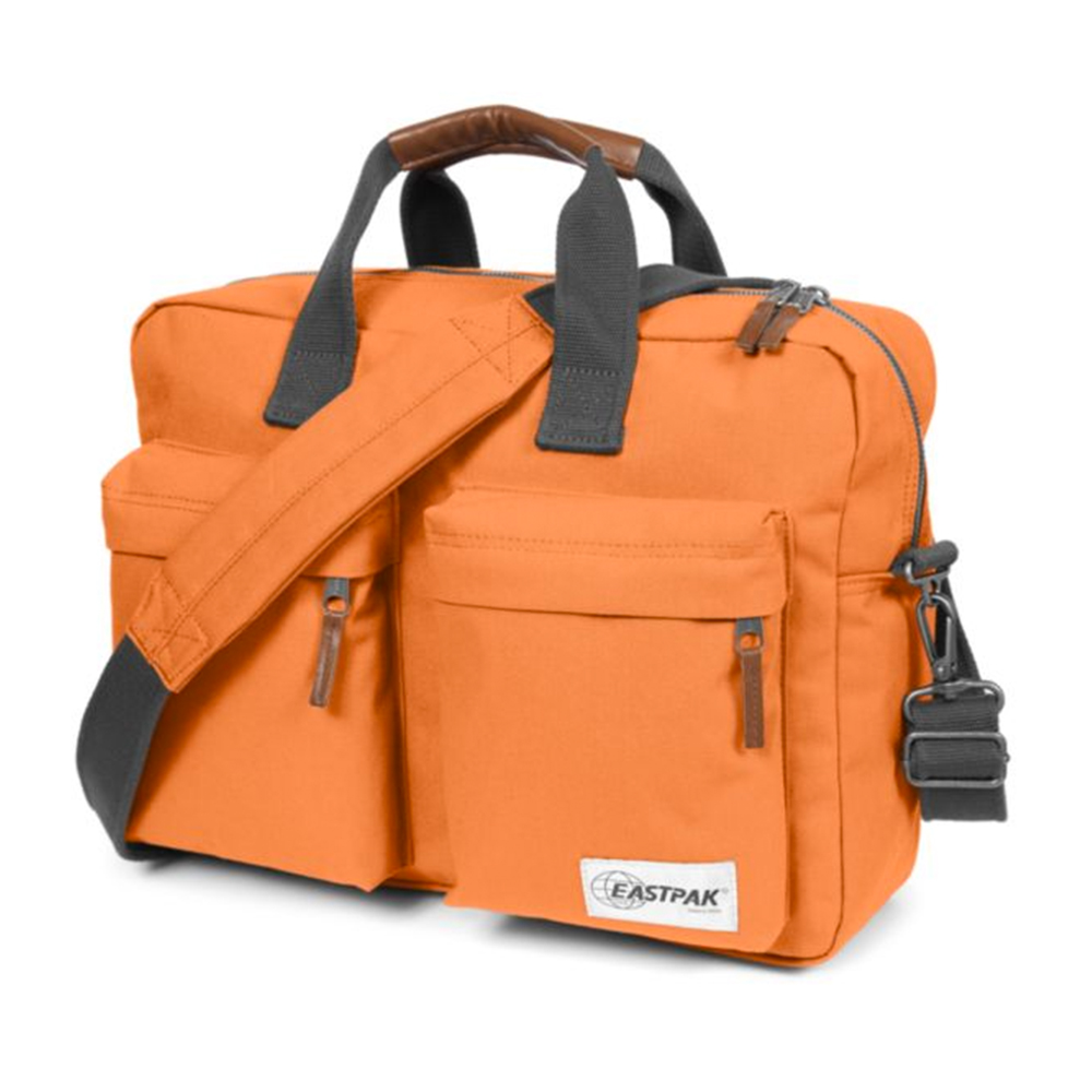 Eastpak Tomec Lifelike Orange Geanta Laptop 15
