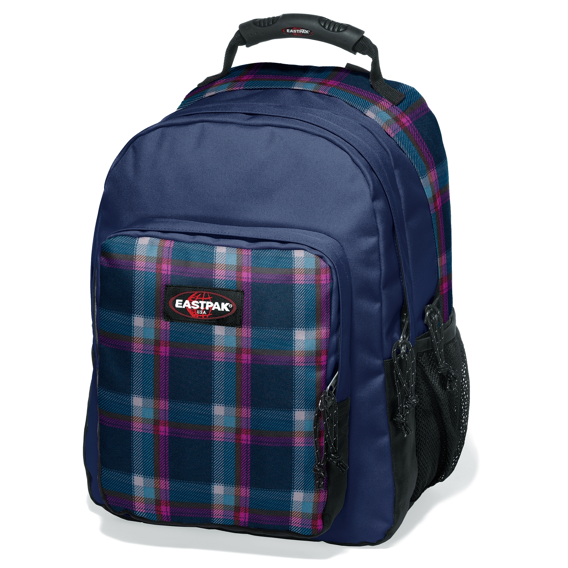 Eastpak Egghead Checked Pink Rucsac Laptop 15