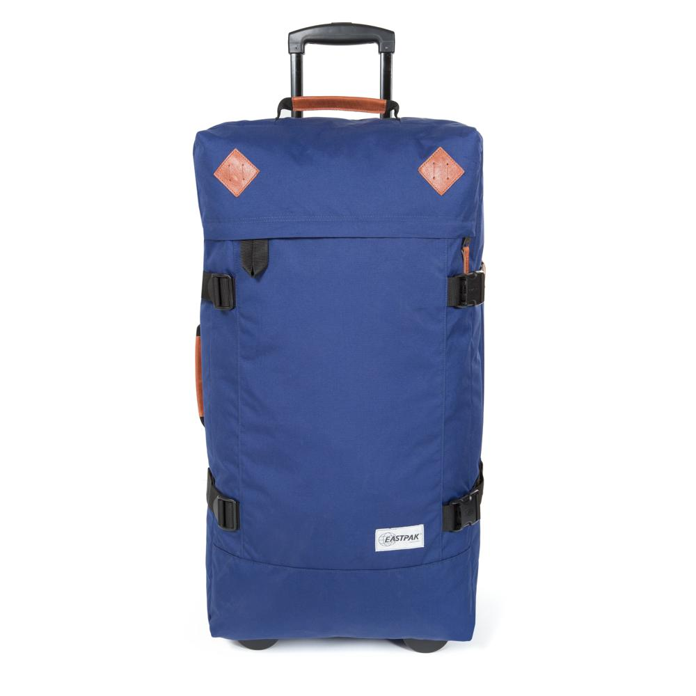 Eastpak Tranverz L Into Tan Navy Troller