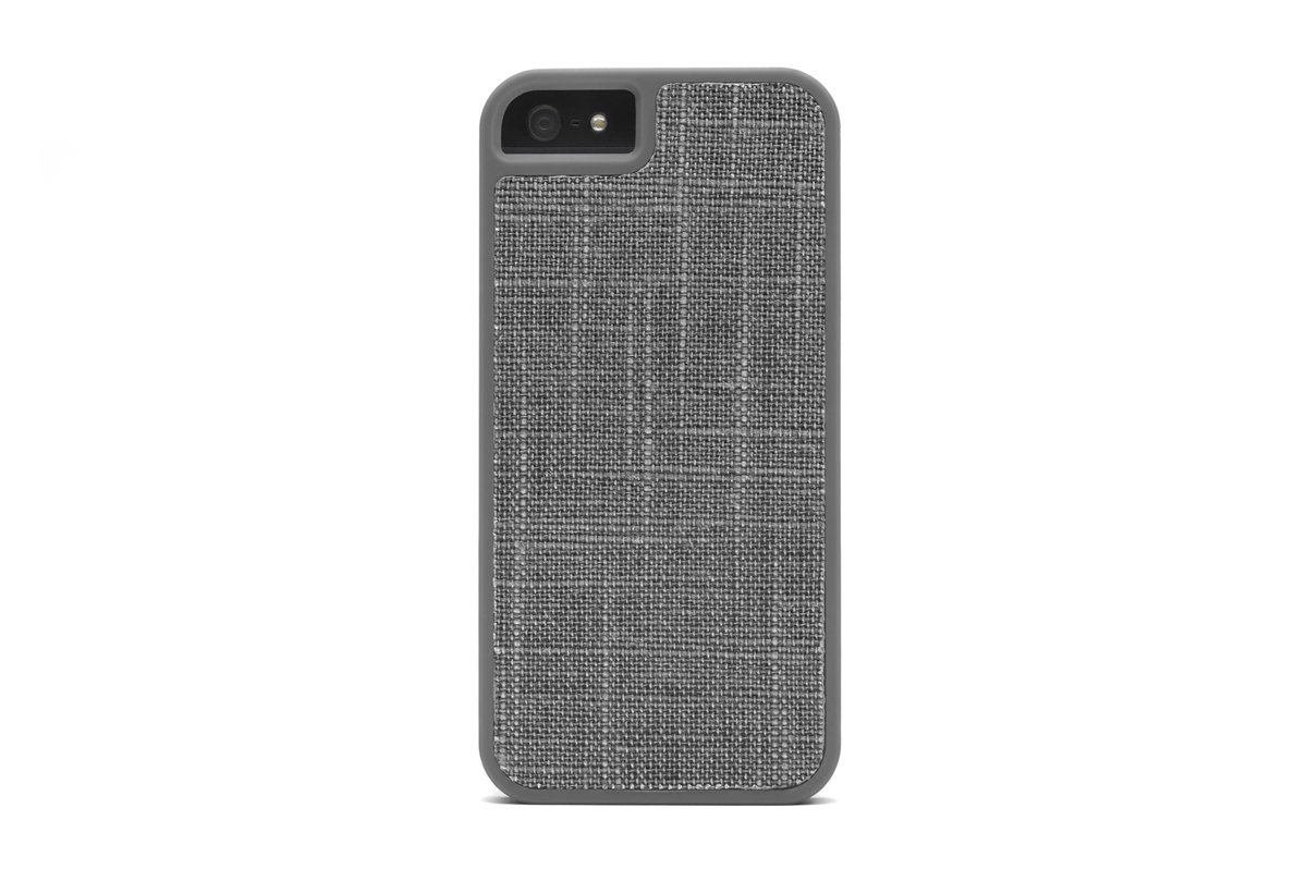 Booq Fibre Snapcase Gray Husa Iphone 5/5s