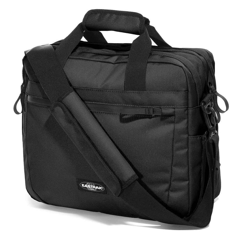 Eastpak Dhooper Black Geanta Laptop 15