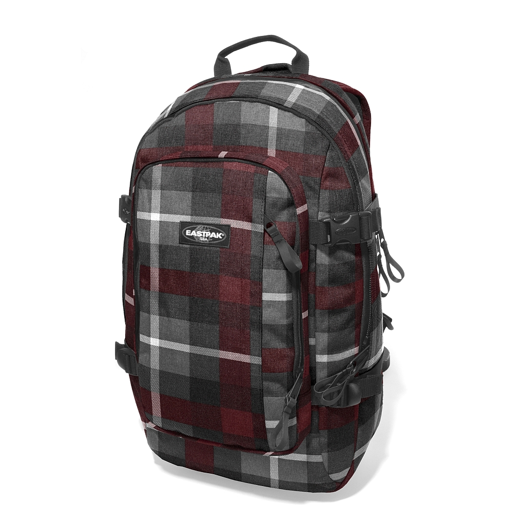 Eastpak Evanz Brown Checker Rucsac Laptop 17