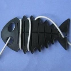CableFish negru | Organizator cabluri